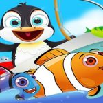 Fish Games For Kids |Trawling Penguin Games online
