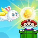 Flying easter bunny2