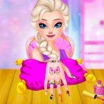 Ice Queen Princess Nails Salon