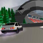 Low poly car racing