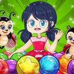 Miraculous Ladybug Bubble Shooter
