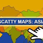 Scatty Maps: Asia